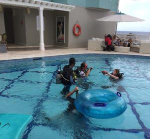Bubblesmaker Scuba Dive learning program