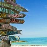 sign posts destination