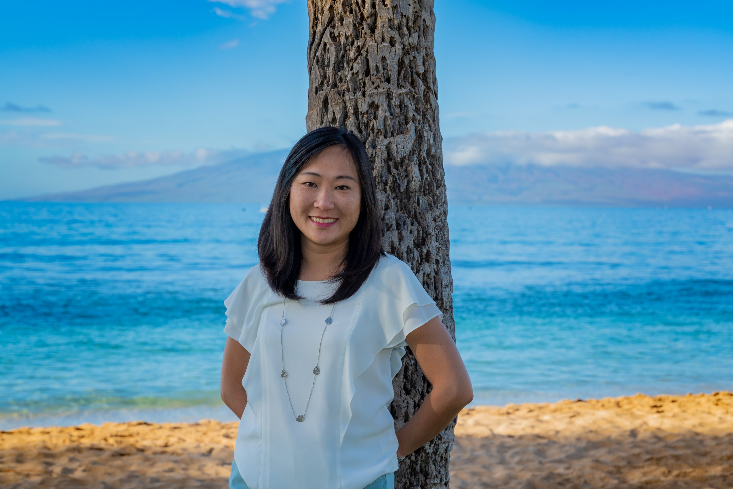 Debby Leong Bravo Travel Maui beach