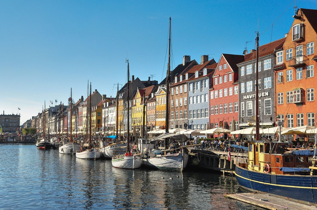 waterfront of Copenhagen, Denmark, Europe