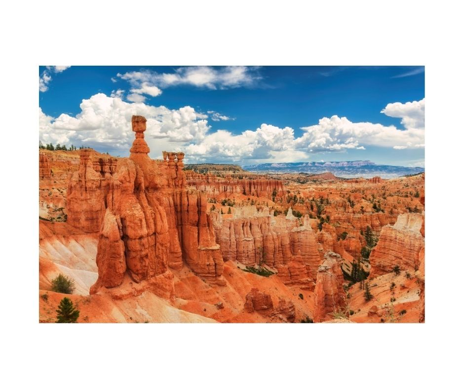 Canyon views at Bryce Canyon National Park