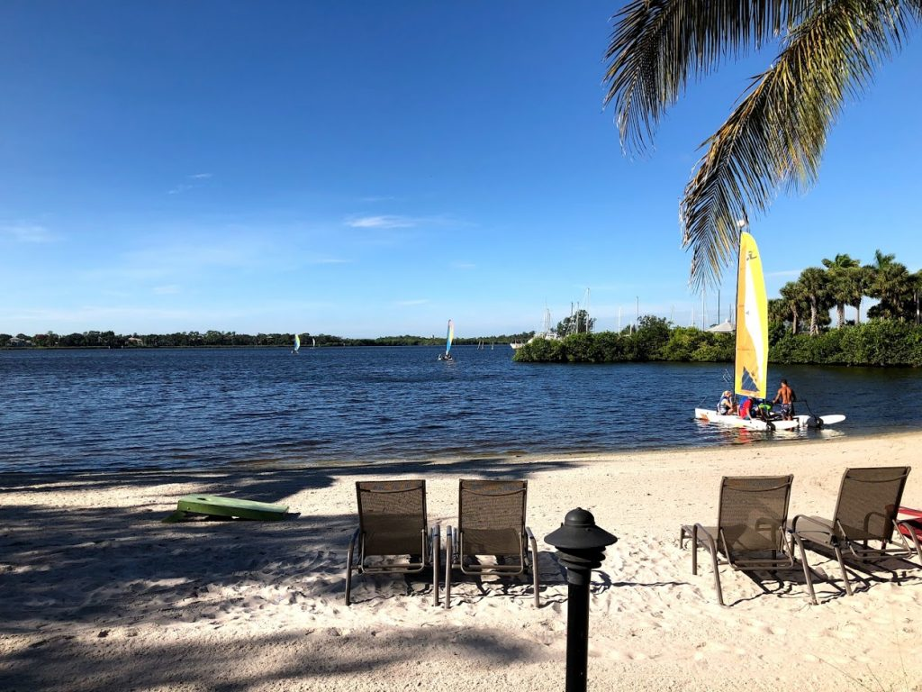 Beach at CLUBMED SANDPIPER Florida all-inclusive resort